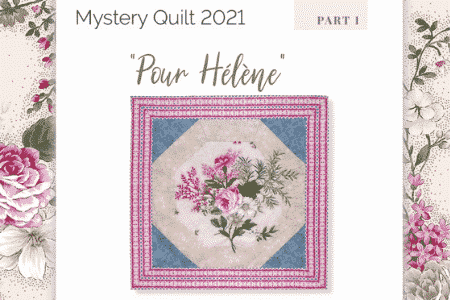 Mystery Quilt 2021-Nathalie-Meance-La-Fee-Pirouette-part-1-GB