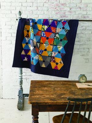 Rie Sibamori-Quilt coloré pour adulte-Urban Quilts-Suzuko Koseki