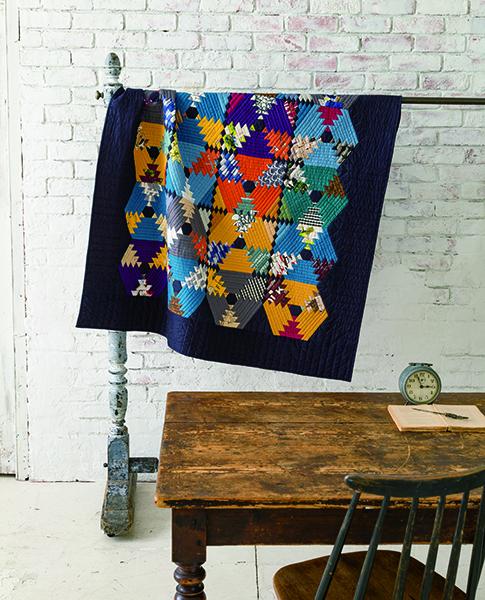 Rie Sibamori- Colorful Quilt-Urban Quilts-Suzuko Koseki