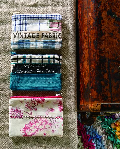 Cosmetic clutch-Urban Quilts-Suzuko Koseki