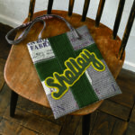 Boyish shoulder bag with appliqué and hand embroidery-Urban Quilts-Suzuko Koseki