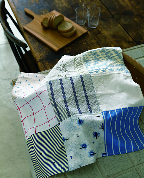 recycled fabrics-Urban Quilts-Suzuko Koseki