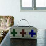 Pouch with crosses-Urban Quilts-Suzuko Koseki