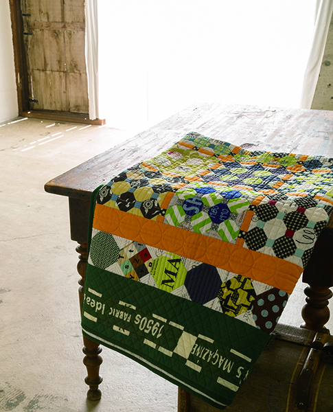 Sachiko Itou-Playful shapes and colours quilts-Urban Quilts-Suzuko Koseki