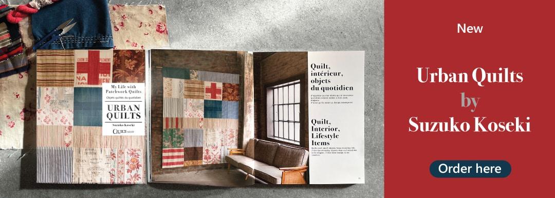 Website banner Urban Quilts book