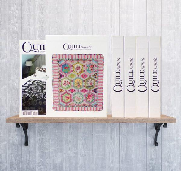 Etuis de rangement pour les magazines Quiltmania