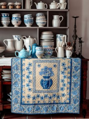 06-Delft-Blue-Vase-livre-Dutch-Heritage_Quilted-Treasure_Petra-Prins-2021