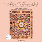 Antique Hexagon Quilt Cover Sleeve-Petra-Prins-gabarits-templates