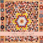 Antique Hexagon Quilt Main Tile-Petra-Prins-gabarits-templates