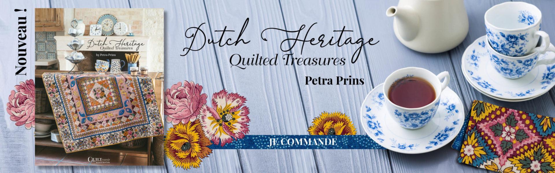 Banniere livre Dutch Heritage de Petra Prins Site FR