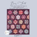 Daisy Field Card Sleeve-Petra-Prins-gabarits-templates