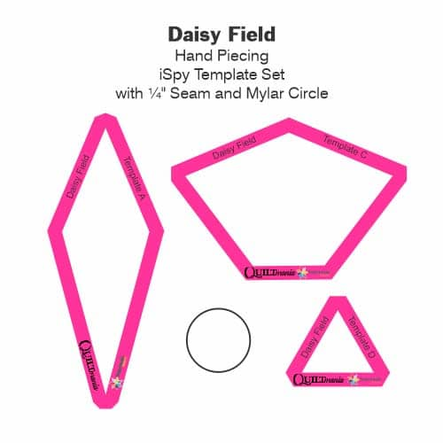 Daisy Fiald Laminate Tile-Petra-Prins-gabarits-templates