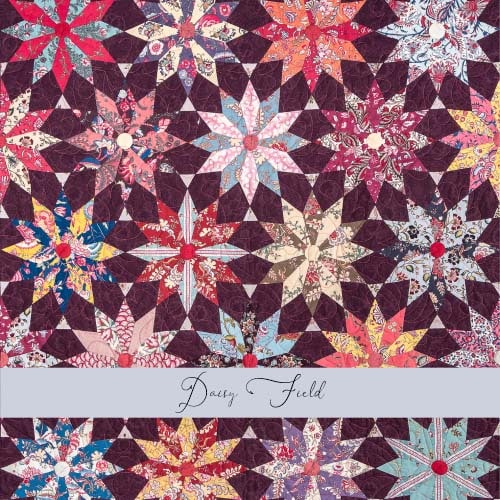Daisy Field Main Tile-Petra-Prins-gabarits-templates