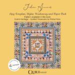 Indian Summer Card Sleeve-Petra-Prins-gabarits-templates