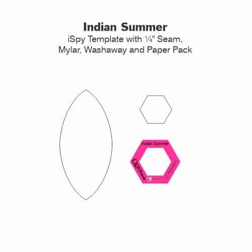 Indian Summer Laminate Tile-Petra-Prins-gabarits-templates