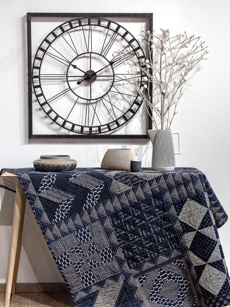 Simply Moderne 15 - Indigo Winter quilt