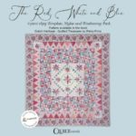 The Red, White and Blue Card Sleeve-Petra-Prins-gabarits-templates