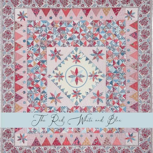 The Red, White and Blue Main Tile-Petra-Prins-gabarits-templates
