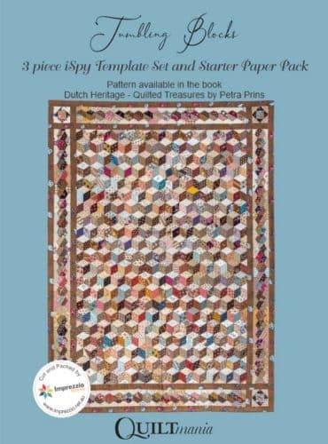 Tumbling Blocks Card Sleeve-Petra-Prins-gabarits-templates