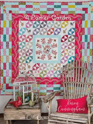 Couverture -livre-A-ladies'-garden-karen-cunningham