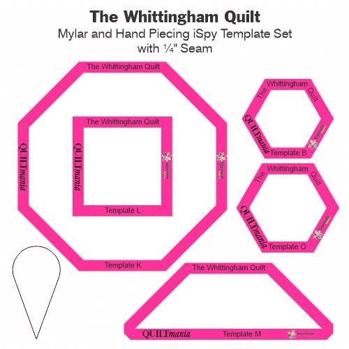 The Whittingham Quilt Laminate Tile