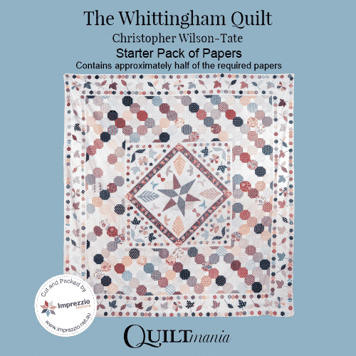 The Whittingham Quilt Paper Card Sleeve