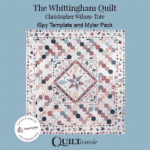 The Whittingham Quilt Template Card Sleeve