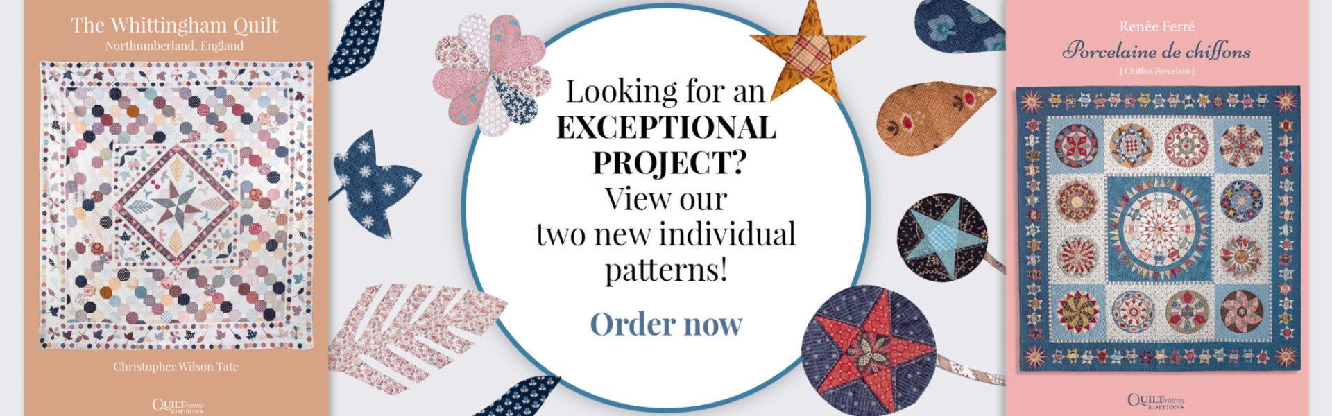 pattern booklet banner