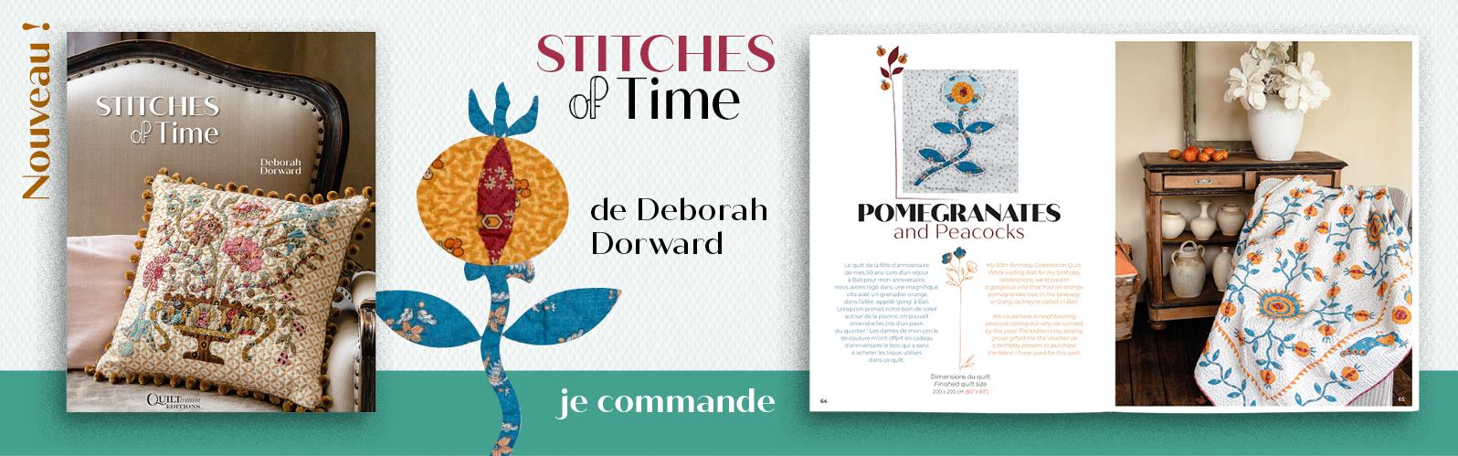 Bannière Stitches of Time - Deborah Dorward