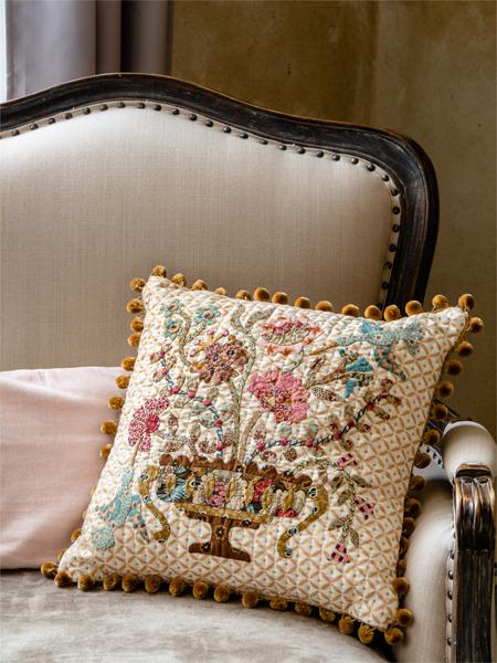 Chesapeake Vase cushion - deborah Dorward