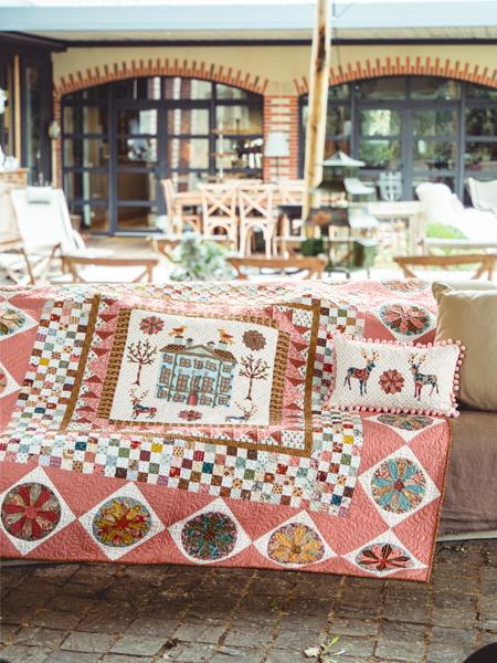Dresden Hall quilt - Deborah Dorward
