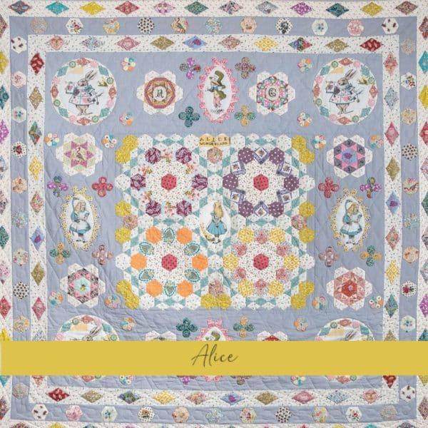 templates quilt alice