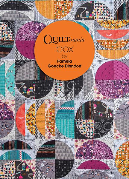 Box Quiltmania Pamela Goecke Dinndorf quilt couv booklet