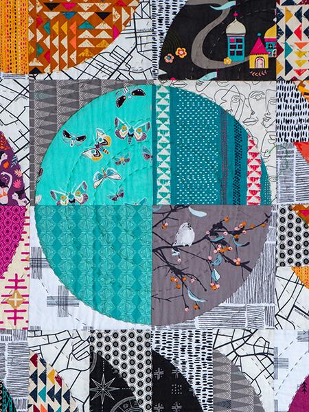 Box Quiltmania Pamela Goecke Dinndorf quilt détails 4