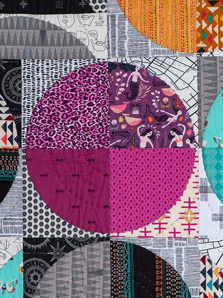 Box Quiltmania Pamela Goecke Dinndorf quilt détails 5