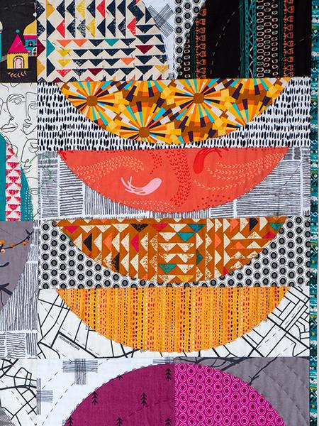 Box Quiltmania Pamela Goecke Dinndorf quilt détails 6
