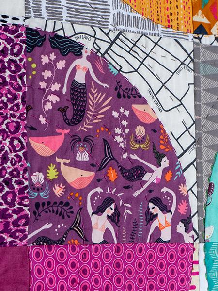 Box Quiltmania Pamela Goecke Dinndorf quilt détails 7