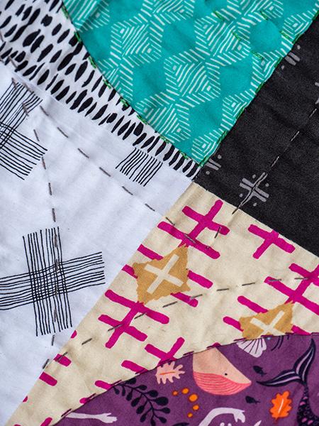 Box Quiltmania Pamela Goecke Dinndorf quilt détails 8