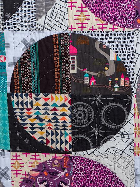 Box Quiltmania Pamela Goecke Dinndorf quilt détails 1