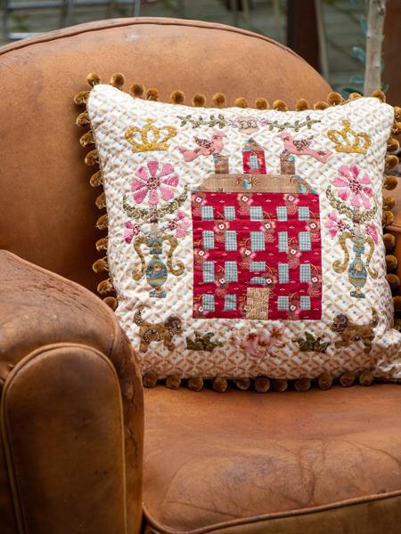 The BirdHouse Cushion - Deborah Dorward