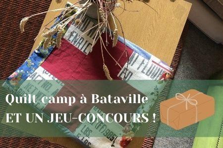 Bannière quilt camp bataville