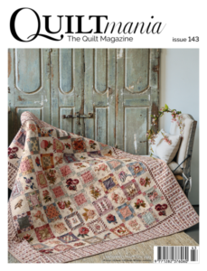 Cover Quiltmania Magazine 143
