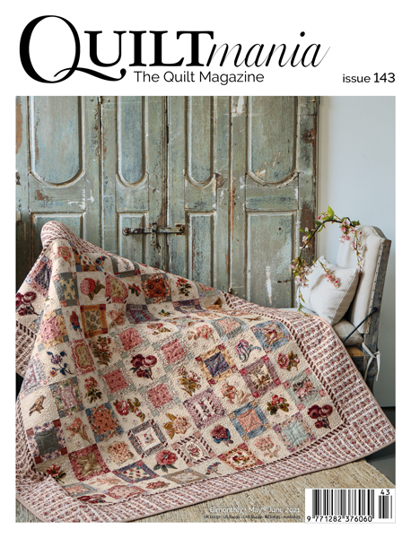 Cover Quiltmania Magazine 143