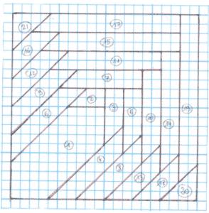 free pattern block quilt Carol