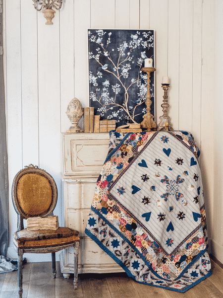 Margaret Mew - The Cleland Coverlet