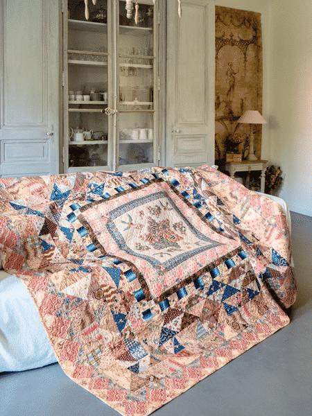 Margaret Mew - The Nairn Cottage quilt