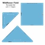 Wildflower Fieldb set gabarits acrylique