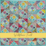 Wildflower Field quilt gabarits acrylique