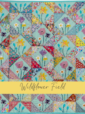 Wildflower Field acrylique templates