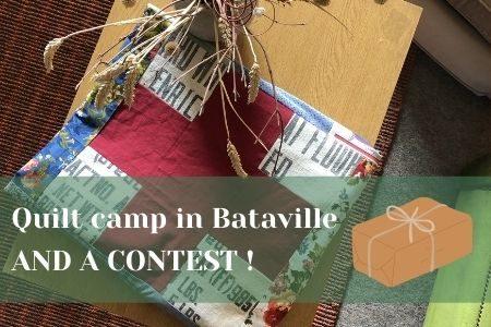 banner quilt camp bataville